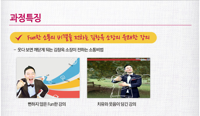 Fun한 소통의 비결을 전하는 김창옥 소장의 유쾌한 강의
